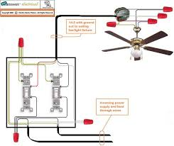 fan and light wiring diagram fan wiring diagrams online ceiling fan light wiring diagram one switch wirdig