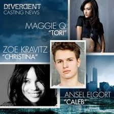 fresh off the casting desk we have divergent casting news zoe kravitz maggie q and ansel elgort join the cast of divergent for summit