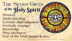 Image result for seven gift of the holy spirit