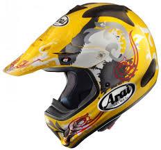 Arai Xd4 Review Arai Vx 3 Wave Motocross Helmet Yellow Xs