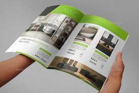 catalog template free product brochure template