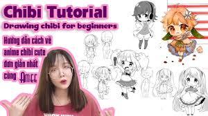 Hướng dẫn cách vẽ anime chibi cute đơn giản nhất cùng Amee | Draw chibi for  beginners | Kinh nghiệm đơn giản nhất liên quan đến chủ đề hình ảnh - Thiết