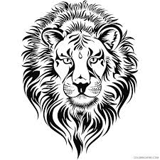 .coloring page, lion coloring pages for kids, lion coloring sheets, lion drawings, lion illustration for kids, lion illustrations, lion printable free, wild animals you know all advantages of coloring pages. Lion Head Coloring Pages Fierce Lion Lions Head Printable Coloring4free Coloring4free Com