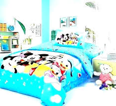 mickey mouse king size comforter clubhouse bedding set sheets full