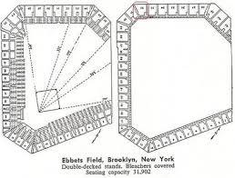 Ebbets Field Seating Chart Ebbets Field Pt 2 Demolished Brooklyn New York Bob Busser