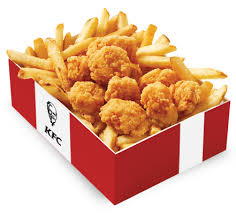 kfc fried chicken bucket. Beautiful Fried Popcorn Chicken Snack Box In Kfc Fried Bucket