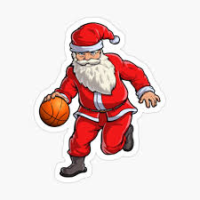 "Basketball Santa Dribble T Shirt Christmas Xmas Ball Sport"" Baby One-Piece  by LiqueGifts | Redbubble"