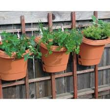 Self-Watering Plastic Wall Planter (Set of 3)