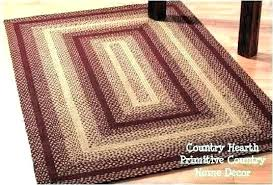 primitive area rugs driver braided home review star country round