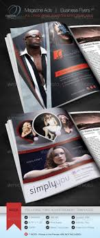 top 25 ideas about print ad templates adobe magazine ad business flyer v2