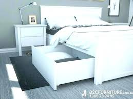 Queen Size Platform Bed Frame With Storage Plans Frames Drawers Twin ...