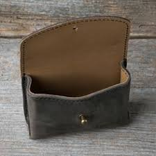 leather essential oil pouch