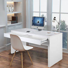 modern desk office. Modern PC Office Computer Desk Home Work Study Writing Console Table With Drawer