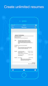 Resume App Delectable Quick Resume Resumes Builder And Designer On The App Store