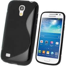 samsung galaxy s4 phone black. igadgitz s line black gel case for samsung galaxy s4 siv mini i9190 i9195 + screen phone