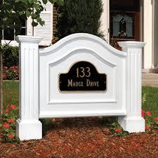 Yard Design Address Signs Mayne Nantucket Address Sign White In 2019 House Address