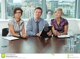 business people at job interview royalty stock photos image business people at job interview