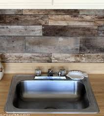 40 Cheap DIY Kitchen Backsplash Ideas And Tutorials You Should See Awesome Wood Stove Backsplash Creative