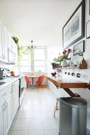 The Best Long Narrow Kitchen Ideas On Pinterest Small Island