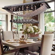kitchen dining lighting. DINGGU™ Luxuriant Crystal Pendant Light With 8 Lights, Ceiling Fixture Flush Mount Chandeliers Lighting Bulb Included, Crystal, Fit For Kitchen, Kitchen Dining G