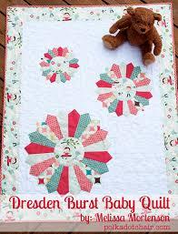45 Beginner Quilt Patterns and Tutorials & Dresen Burst Baby Quilt Tutorial Adamdwight.com