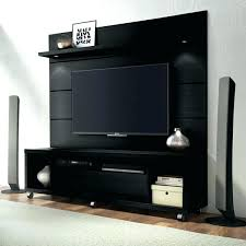in wall mount stand and floating panel with led lights simply costco tv canada moun