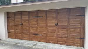 Faux Garage Door Hardware Faux Wood Garage Door Ocala Faux Finish