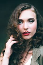 40s inspired fashion editorial photography portraits hair hair styles and hair makeup