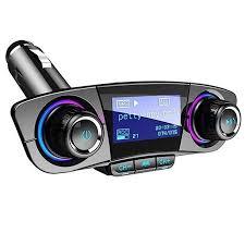 BT Handsfree FM Transmitter Aux Modulator Car Kit Car Audio MP3 ...