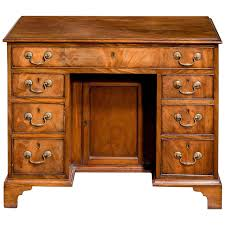 george iii period gany kneehole desk 1