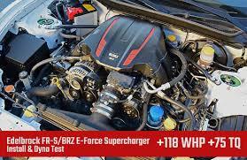 Install, Dyno Test: Edelbrock FR-S/BRZ E-Force Supercharger +118 WHP