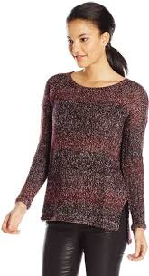 Sanctuary Clothing Womens Northern Marled Pullover Sweater