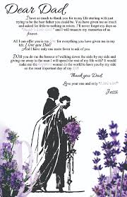 Dear Dad Letter To Father Of The Bride