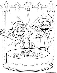 Small Picture Happy Birthday Coloring Pages FlowerBirthdayPrintable Coloring