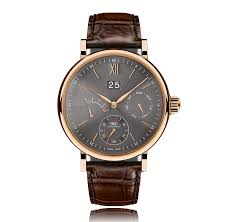 mens rose gold watches the watch gallery iwc schaffhausen portofino automatic 18k rose gold grey dial mens watch iw516203