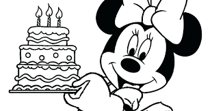 Mickey Mouse Birthday Coloring Pages Mouse Coloring Pages Mickey
