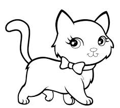 Small Picture Cat Coloring Page GetColoringPagescom
