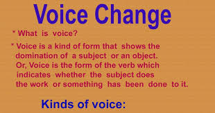 EnglishGrammar Learning: Active and Passive Voice