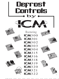 defrost catalog by icm relay thermostat