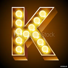 Letter Light Board Photo Art Print Old Lamp Alphabet For Light Board Letter