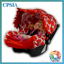 2018 08posh beautiful infant car seat canopy cover fit most seat red girl infant car seat canopy cover fit most infant car seat 60s 08 from happychildren