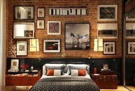 Bedroom Brick Wall Brick Accent Wall Bedroom Bedroom White Brick Wallpaper  . Bedroom Brick Wall ...