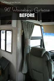 fresh ideas rv windshield curtains exclusive design rv window treatments the new lighter life