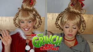 how the grinch stole christmas cindy lou now. Modren Stole Cindy Lou Who Halloween Makeup Transformation  How The Grinch Stole  Christmas Intended The Now V