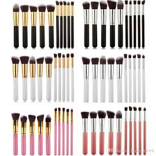 6 style mini makeup brushes tools sets make up brushes set professional portable full cosmetic brush with opp bag makeup foundation best makeup s