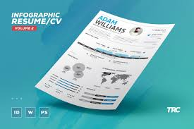 100 Infographic Style Resume Resume Infographic Business