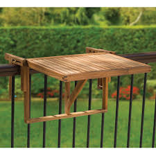 the instant wooden deck table show ready to use