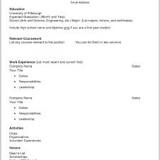 Resume Templates Free Printable Simple Free Printable Resume Templates Downloads Resumemplates