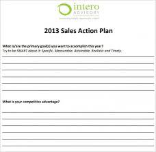 27 Sales Action Plan Templates Doc Pdf Ppt Free Premium