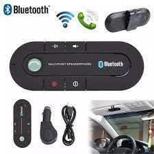 Bộ Phụ Kiện Rảnh Tay Bluetooth Không Dây Cho Ô Tô, Bộ Loa Ngoài Cho Điện  Thoại, Kẹp Gắn Tấm Che Nắng Cho Điện Thoại, Xe Hơi Chính Hãng 100%